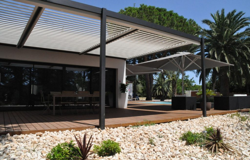 Pergolas de aluminio en Barcelona | pérgolas para terraza, jardin ...
